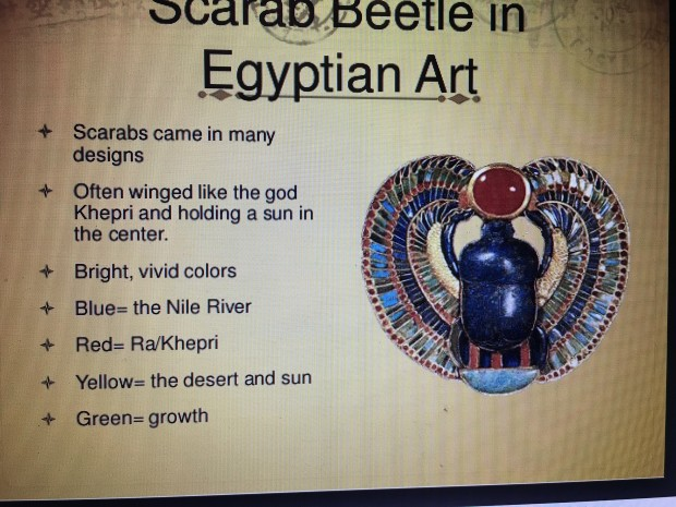 Scarab Beetle in Egyptian Art
